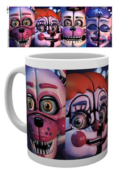 Photo du produit FIVE NIGHTS AT FREDDY´S MUG SISTER LOCATION FACES