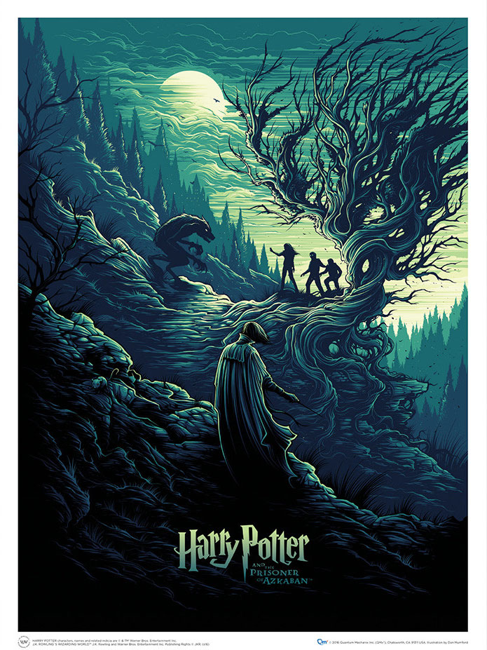 Photo du produit LITHOGRAPHIE HARRY POTTER & THE SHADOW OF THE WEREWOLF