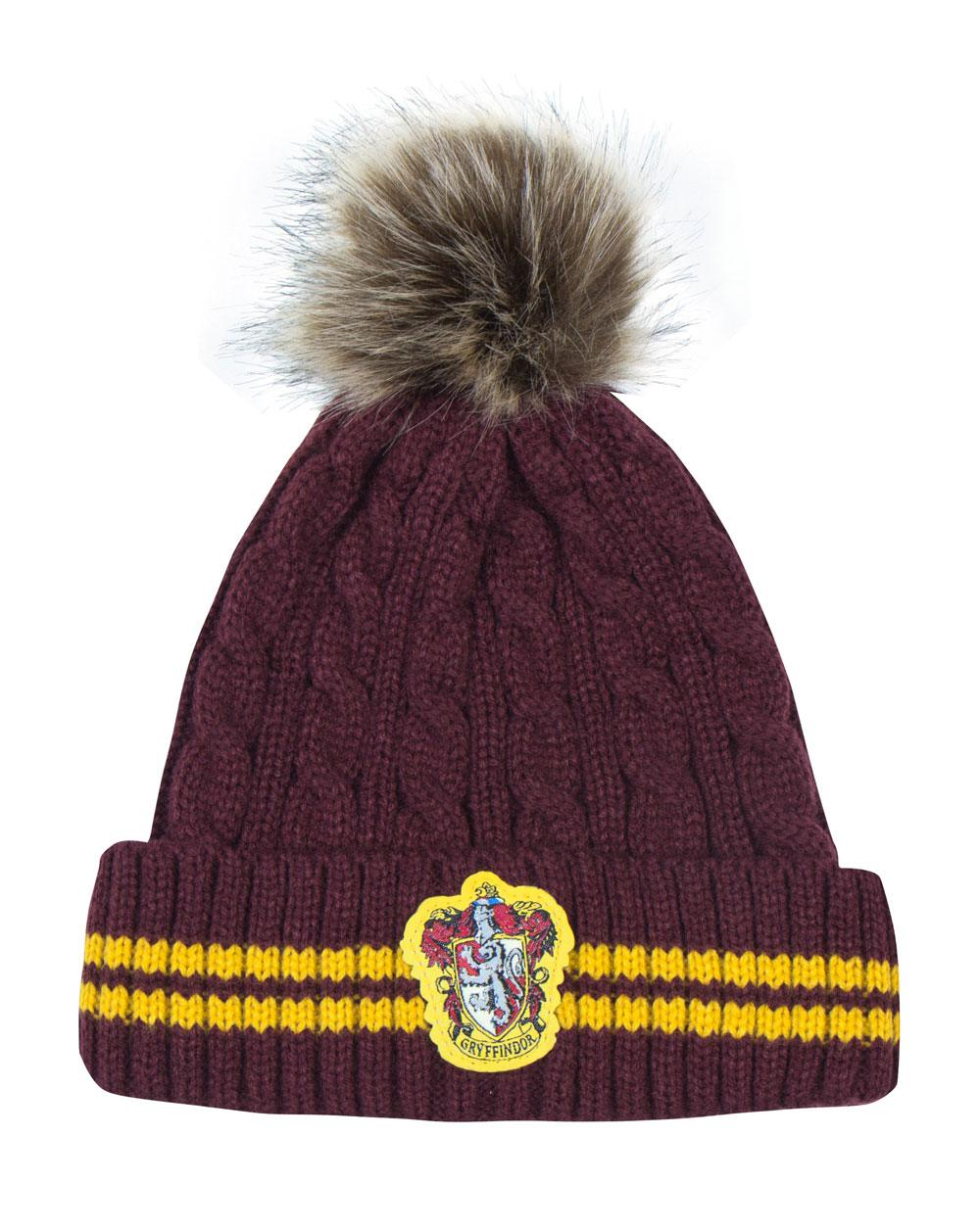 Photo du produit BONNET HARRY POTTER A POM-POM GRYFFINDOR