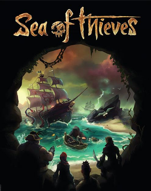 Photo du produit LITHOGRAPHIE SEA OF THIEVES PREPARE TO FIGHT