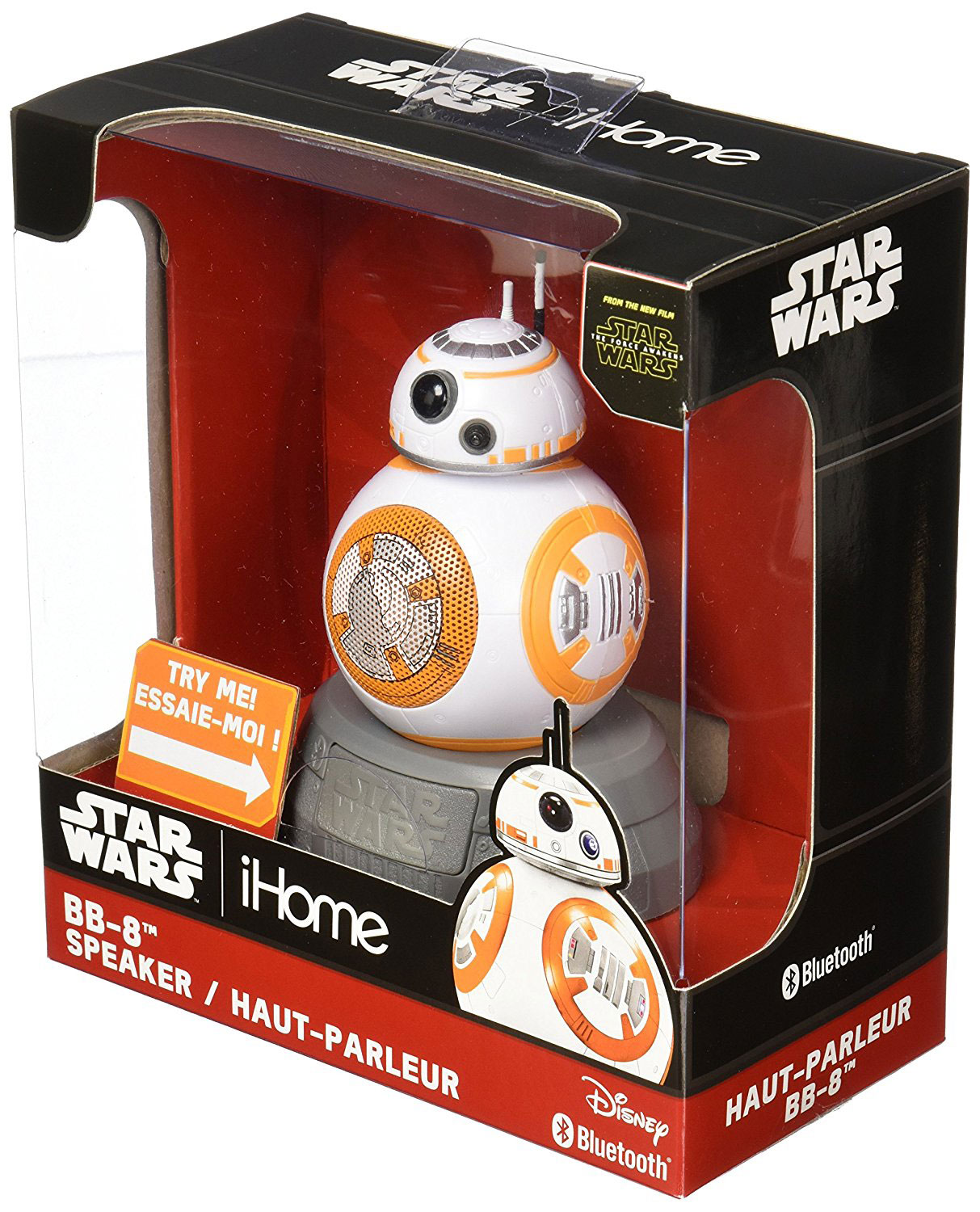 Photo du produit STAR WARS HAUT-PARLEUR BLUETOOTH BB-8 18 CM