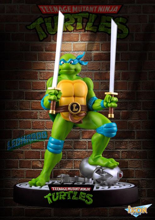 Les tortues ninja statuette leonardo 31 cm - Leonardo tortues ninja ...