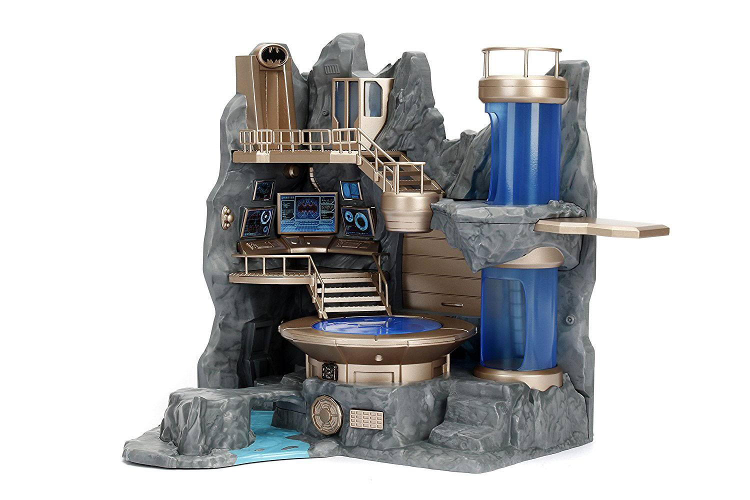 Photo du produit DC COMICS DIORAMA NANO METALFIGS BATCAVE