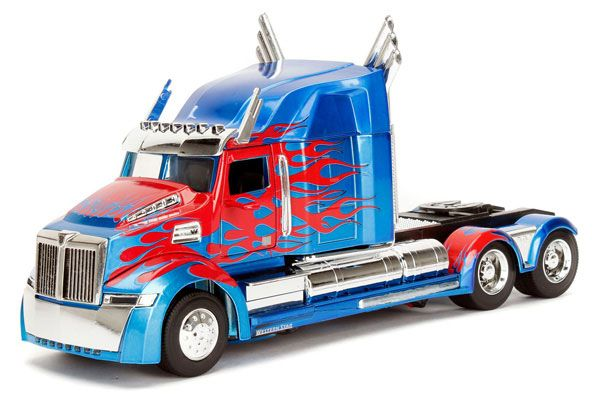 Photo du produit REPLIQUE TRANSFORMERS THE LAST KNIGHT 1/24 OPTIMUS PRIME WESTERN STAR 5700 XE PHANTOM