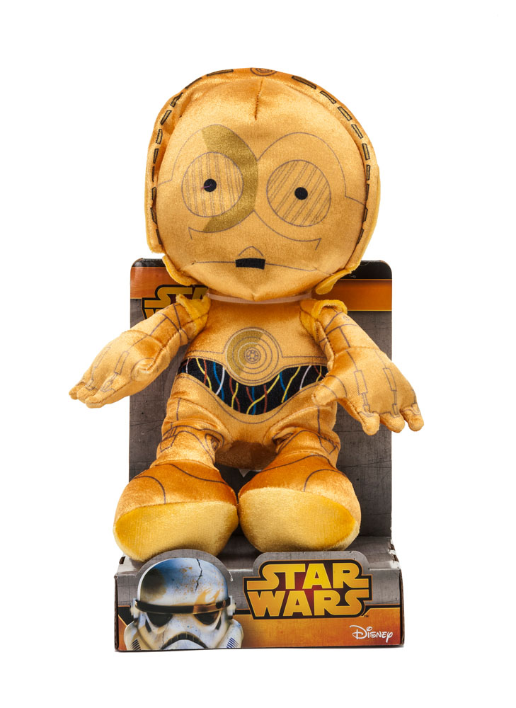 Photo du produit STAR WARS PELUCHE C-3PO