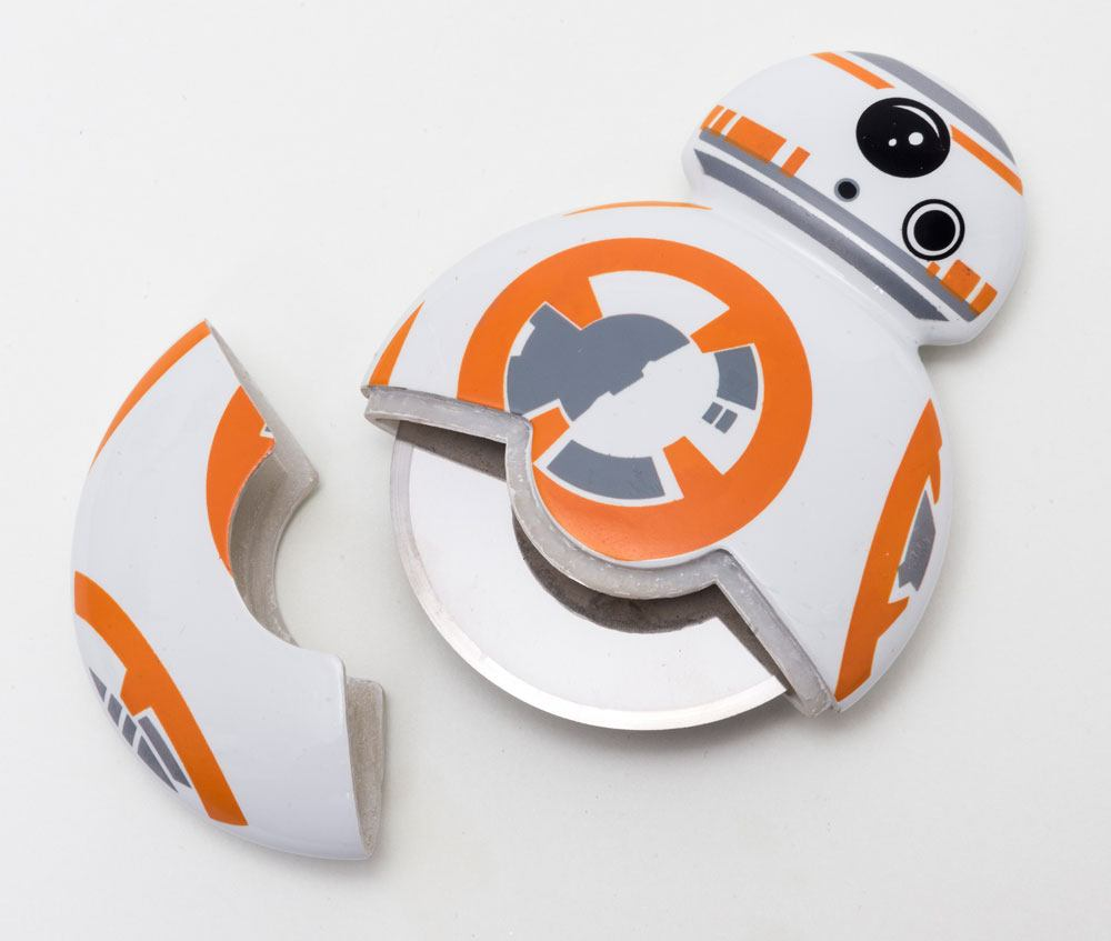 Photo du produit STAR WARS EPISODE VII COUTEAU A PIZZA BB-8