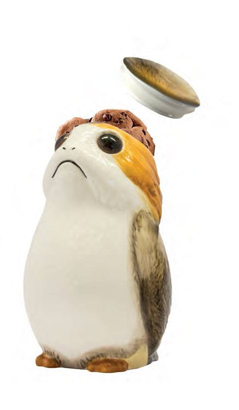Photo du produit STAR WARS EPISODE VIII BOITE A COOKIES 3D PORG