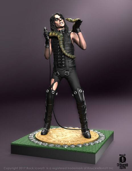 Photo du produit ALICE COOPER STATUETTE ROCK ICONZ VER. II SNAKE 23 CM