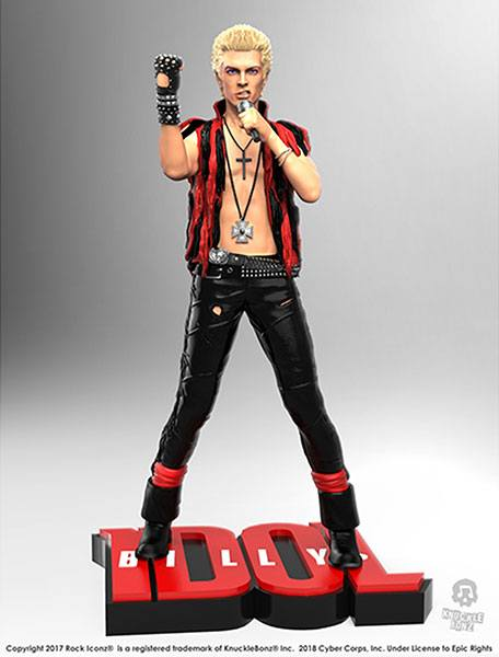 Photo du produit BILLY IDOL STATUETTE ROCK ICONZ 22 CM