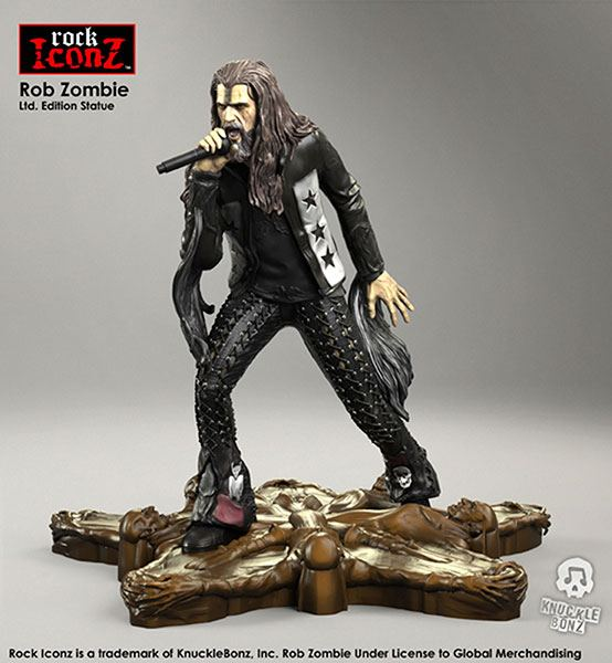 Photo du produit ROB ZOMBIE STATUETTE ROCK ICONZ 20 CM