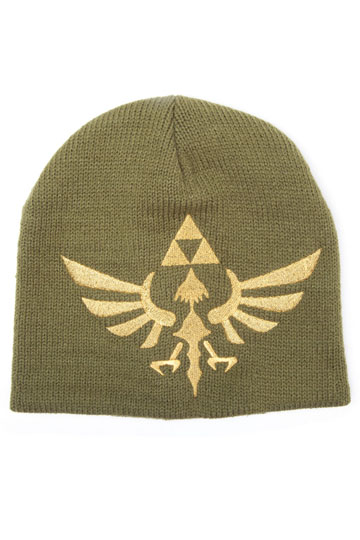 Photo du produit THE LEGEND OF ZELDA BONNET WOVEN GOLDEN LOGO