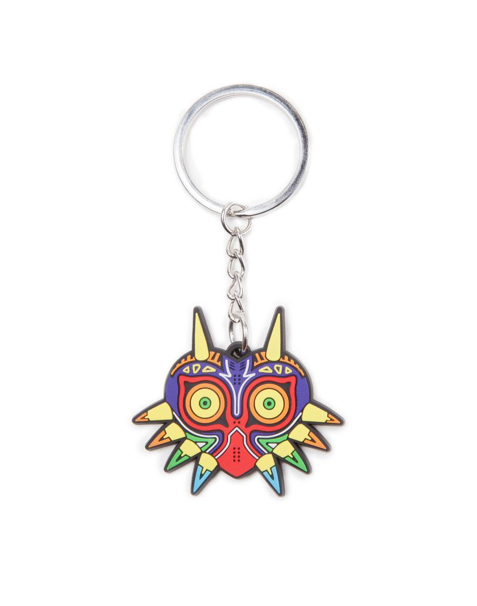 Photo du produit PORTE-CLE THE LEGEND OF ZELDA EN CAOUTCHOUC MAJORA'S MASK
