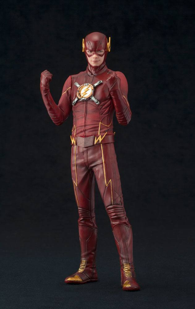 Photo du produit THE FLASH STATUETTE PVC ARTFX+ 1/10 THE FLASH HEO EU EXCLUSIVE 19 CM