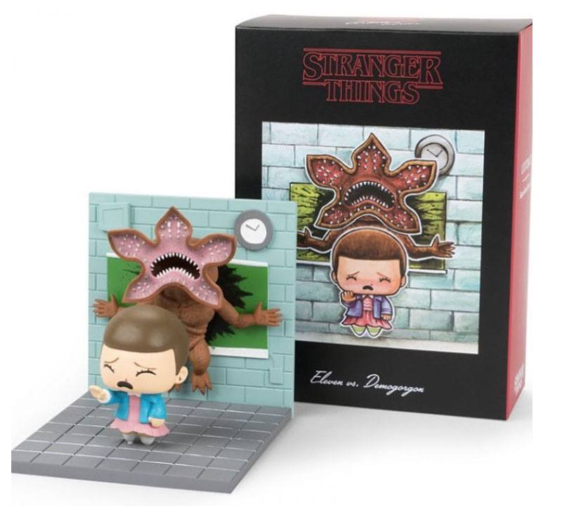 Photo du produit STRANGER THINGS DIORAMA ELEVEN VS DEMOGORGON LC EXCLUSIVE