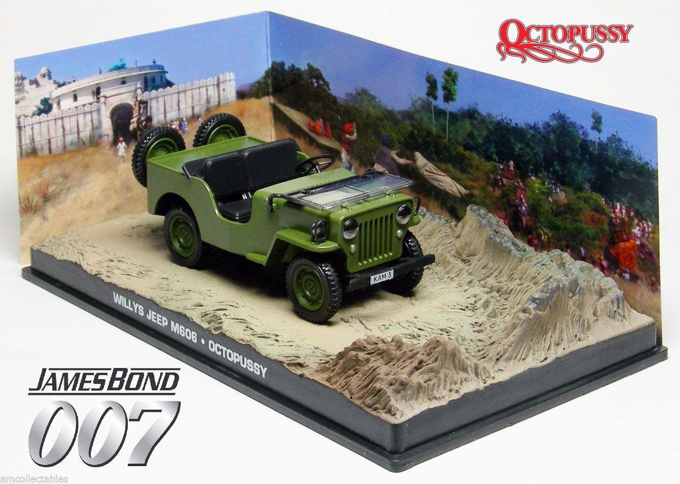 Photo du produit JAMES BOND OCTOPUSSY 1/43 1953 WILLY'S JEEP METAL