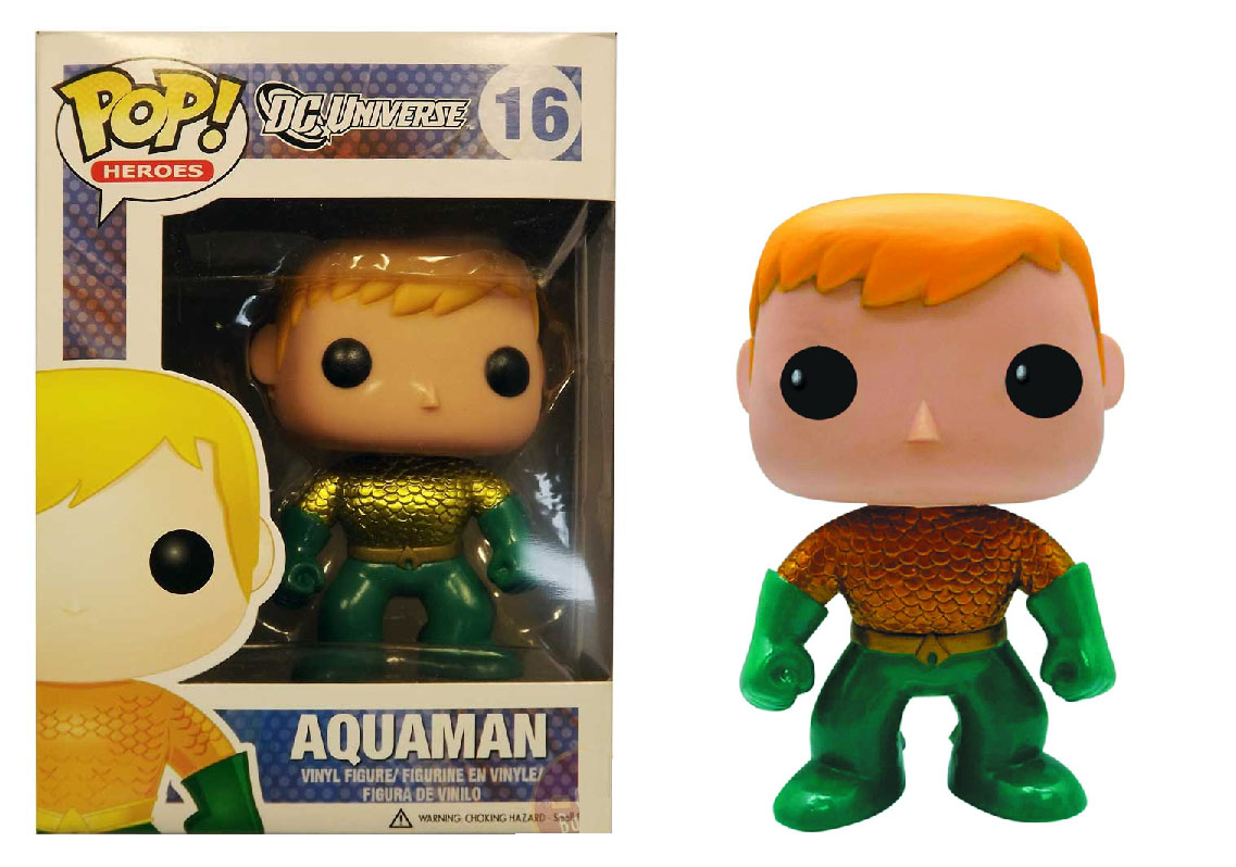 Photo du produit DC COMICS FUNKO POP AQUAMAN PX EXCLU