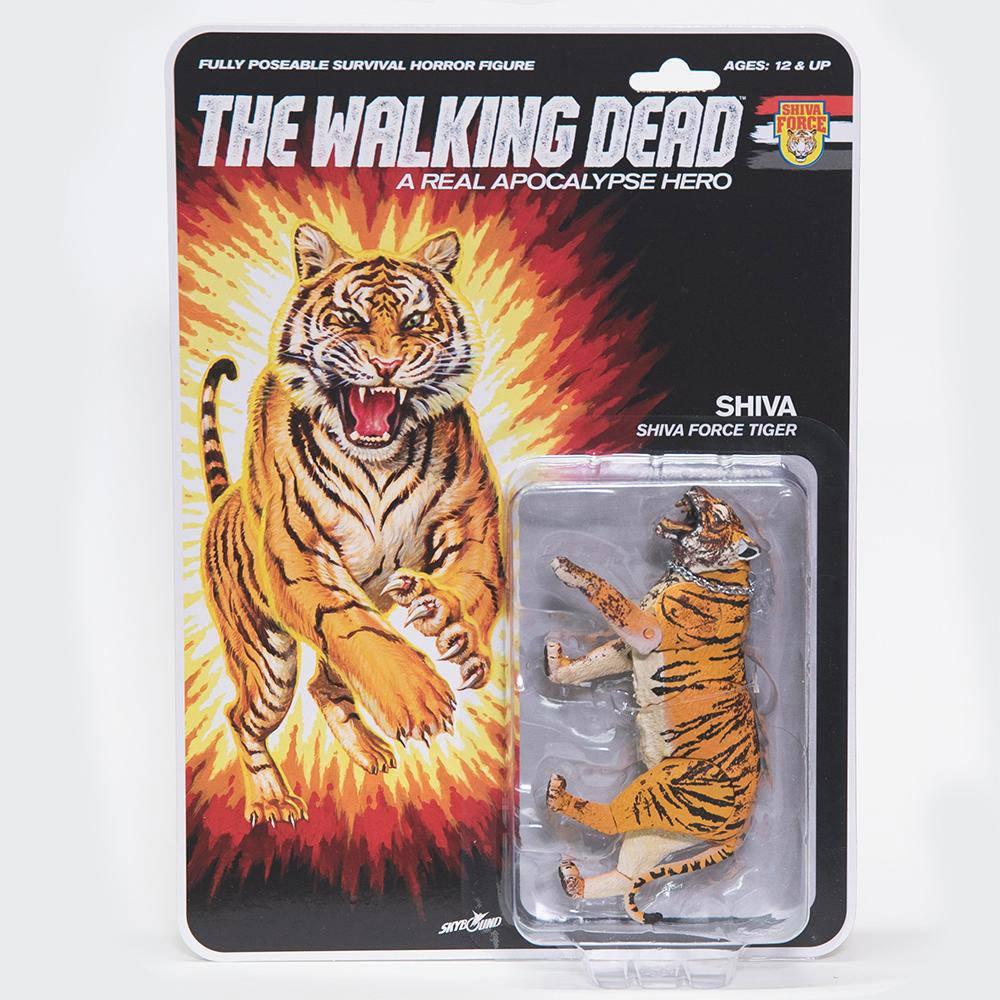 Photo du produit THE WALKING DEAD FIGURINE SHIVA FORCE TIGER SHIVA (BLOODY) 13 CM