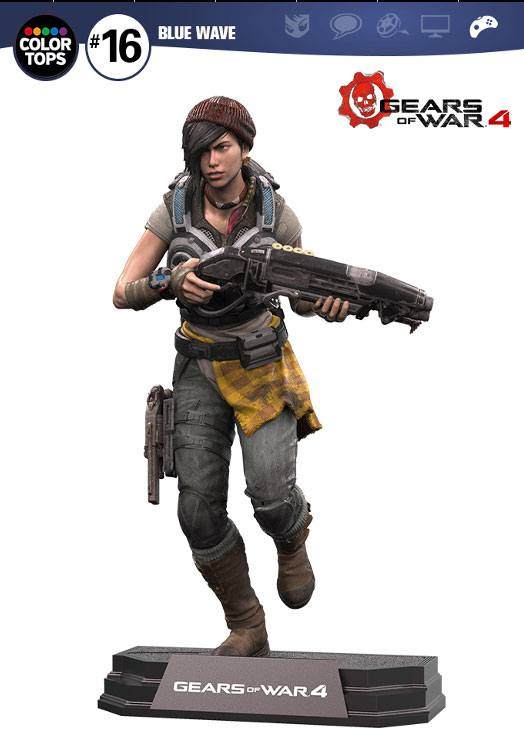 Photo du produit GEARS OF WAR 4 FIGURINE COLOR TOPS KAIT DIAZ 18 CM