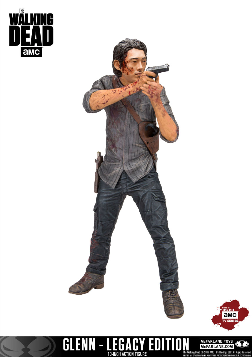 Photo du produit THE WALKING DEAD TV VERSION FIGURINE DELUXE GLENN LEGACY EDITION 25 CM