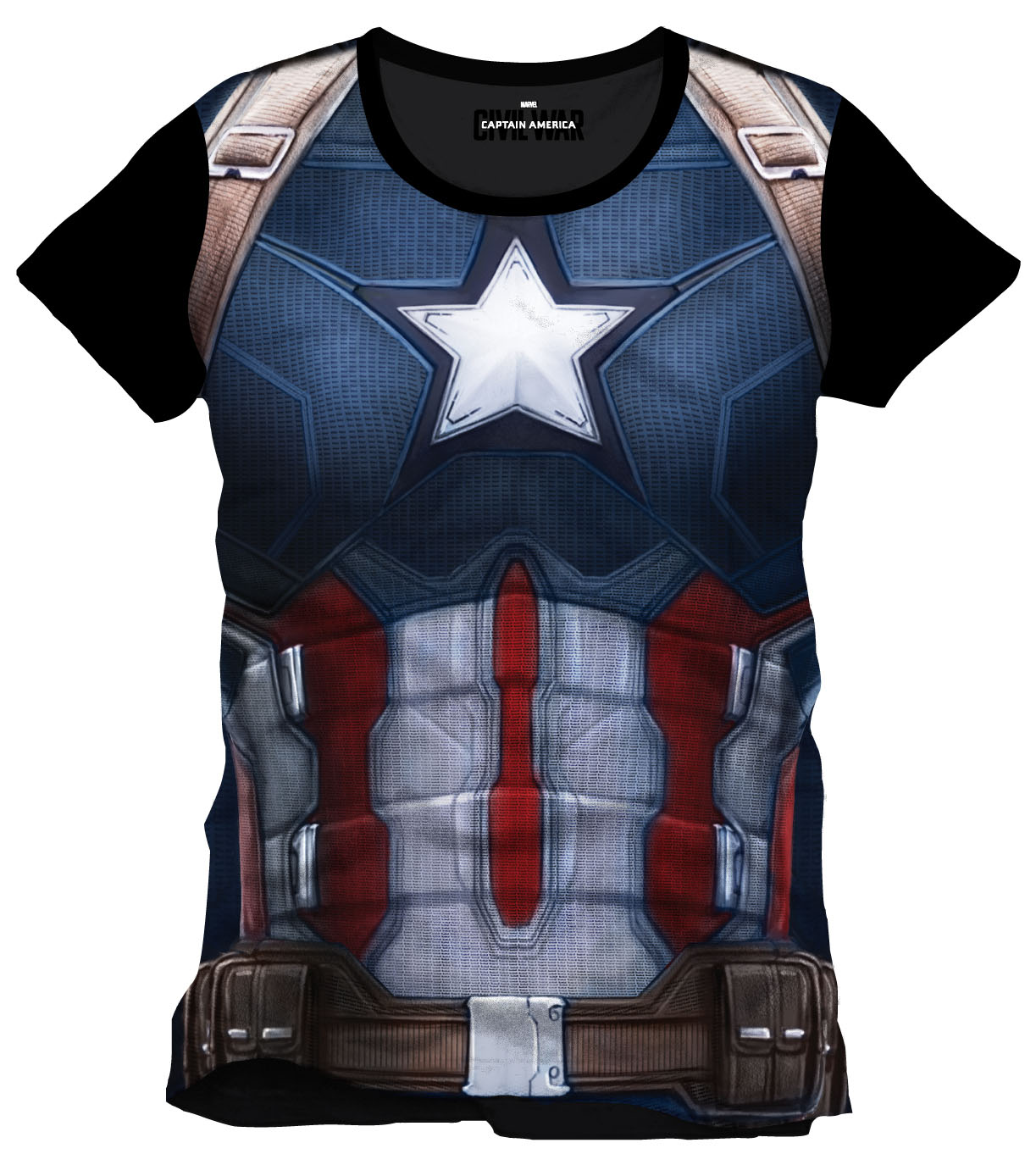 Photo du produit CAPTAIN AMERICA CIVIL WAR T-SHIRT CAP CHEST