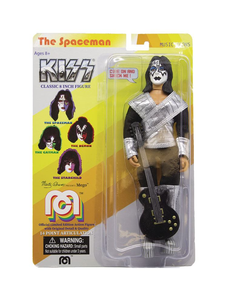 Photo du produit KISS FIGURINE LOVE GUN SPACEMAN 20 CM
