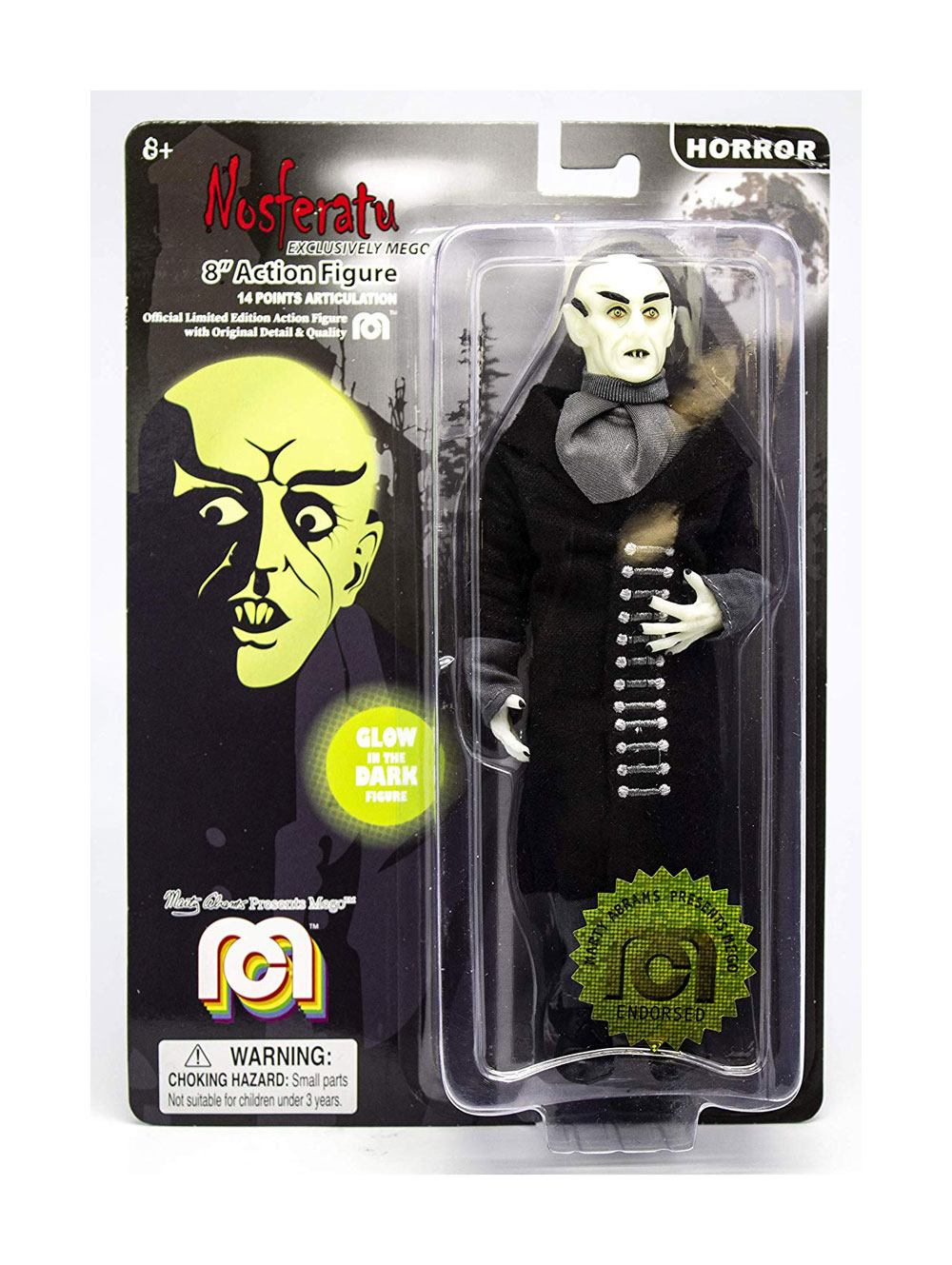 Photo du produit NOSFERATU FIGURINE NOSFERATU (GLOW IN THE DARK) 20 CM