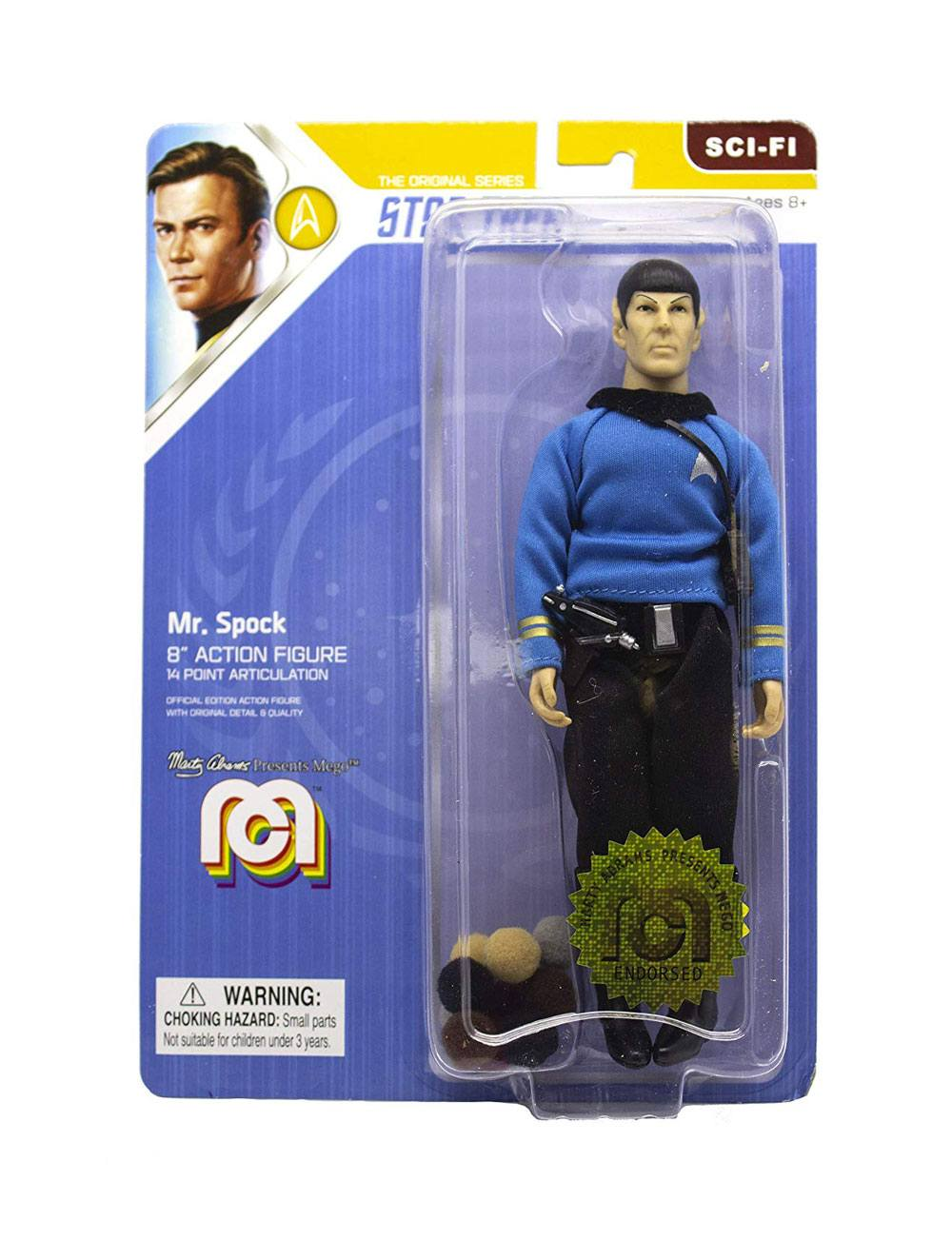 Photo du produit STAR TREK TOS FIGURINE MR. SPOCK (THE TROUBLE WITH TRIBBLES) 20 CM