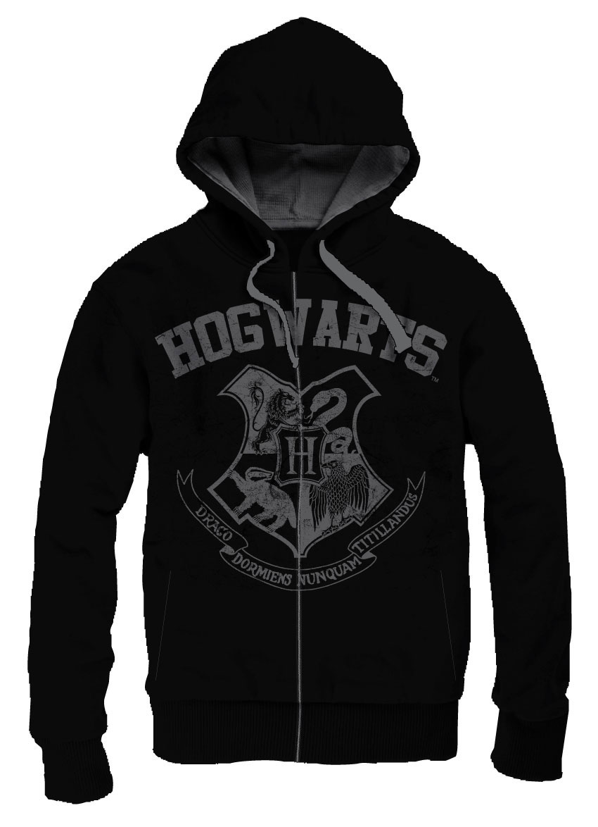 Photo du produit HARRY POTTER SWEATER A CAPUCHE HOGWARTS SCHOOL VINTAGE
