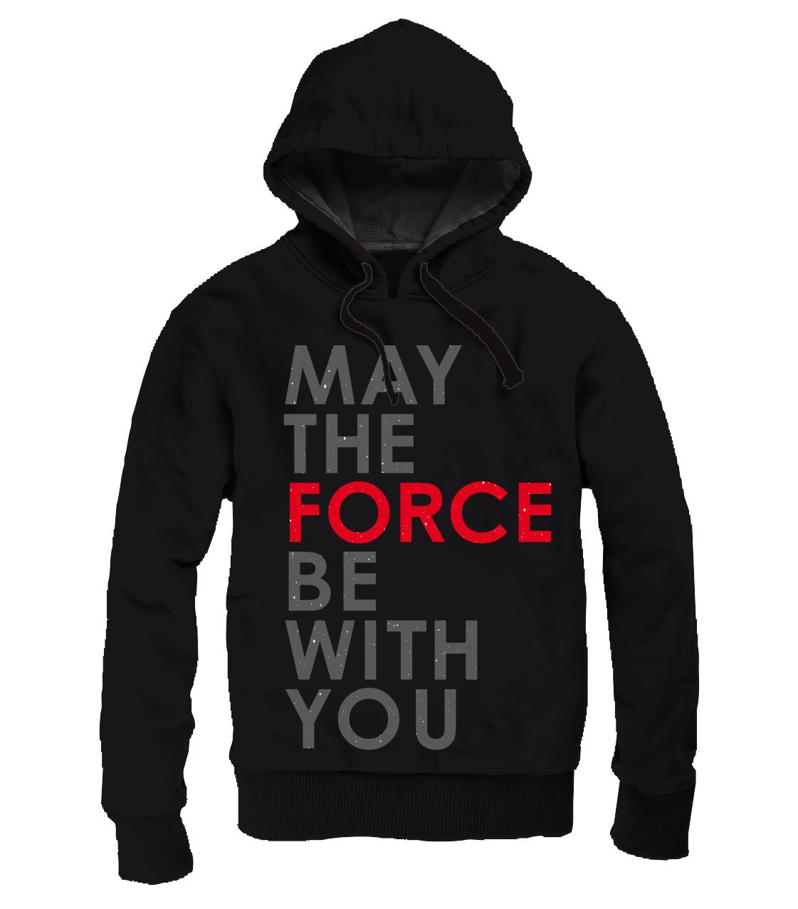 Photo du produit STAR WARS EPISODE VIII SWEATER A CAPUCHE ZIPPE MAY THE FORCE BE WITH YOU