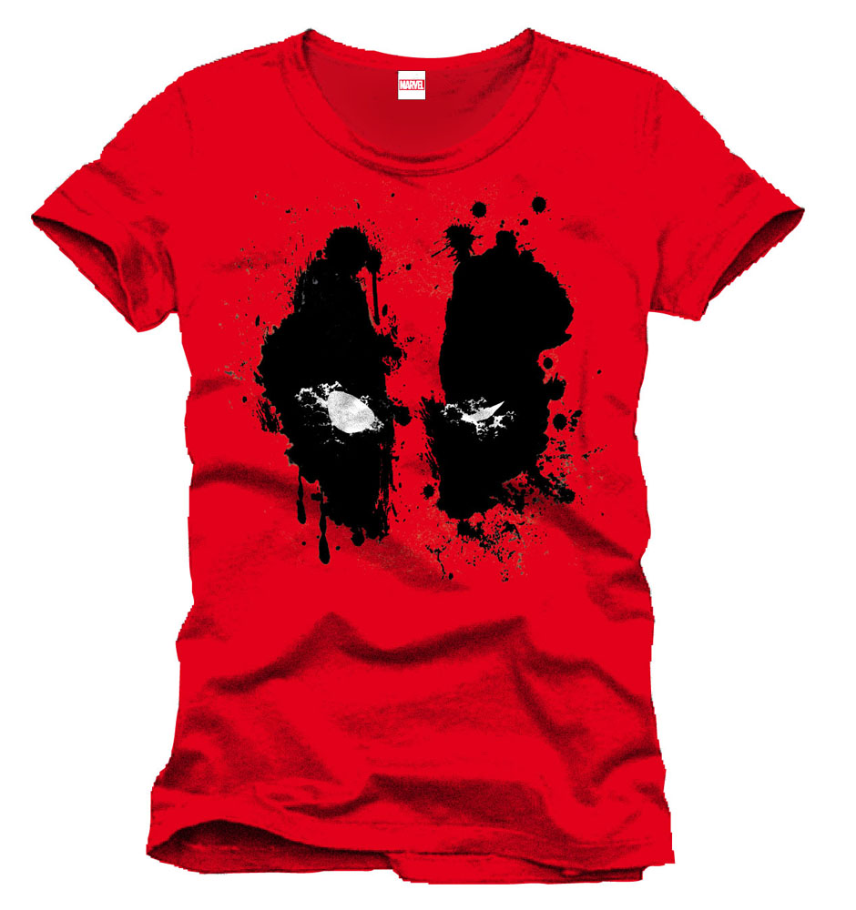 Photo du produit DEADPOOL T-SHIRT SPLASH HEAD