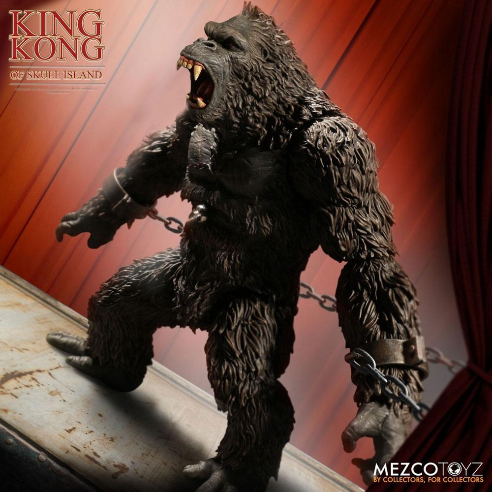Photo du produit KING KONG FIGURINE KING KONG OF SKULL ISLAND 18 CM