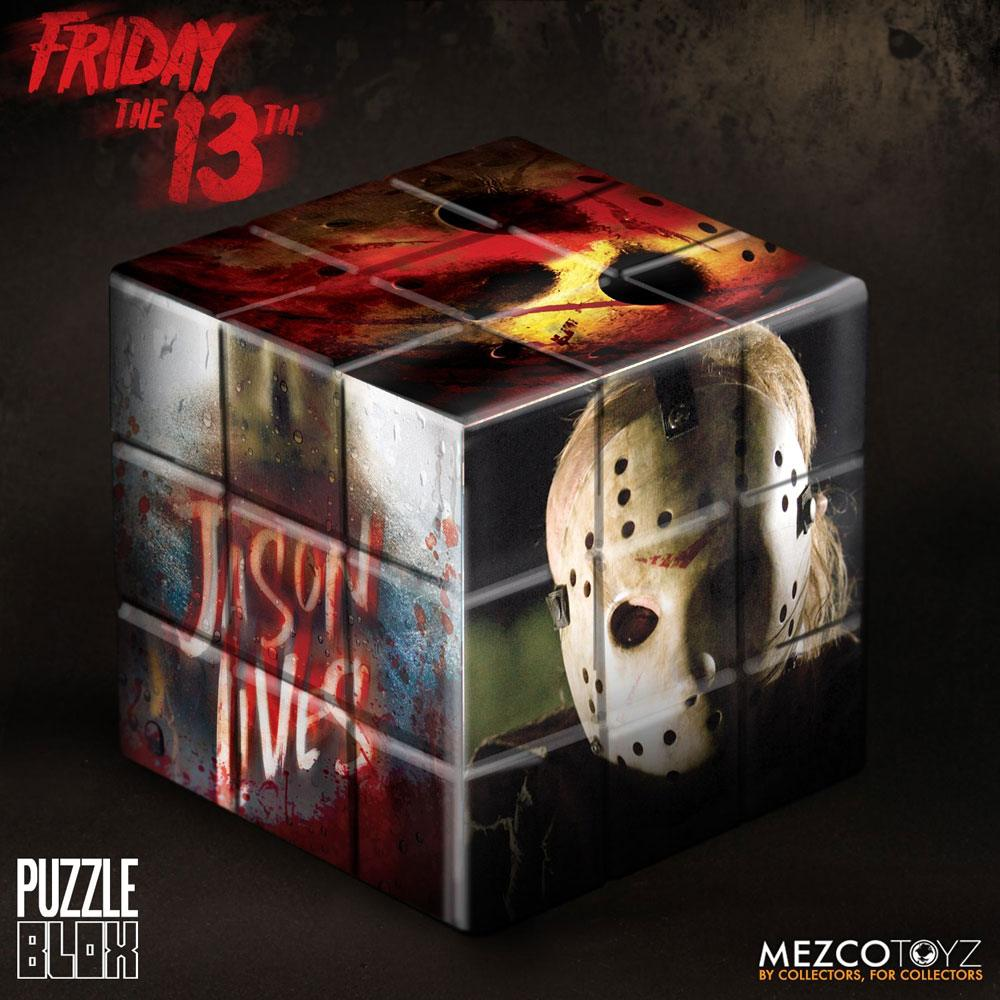 Photo du produit VENDREDI 13 CUBE PUZZLE JASON VOORHEES 9 CM