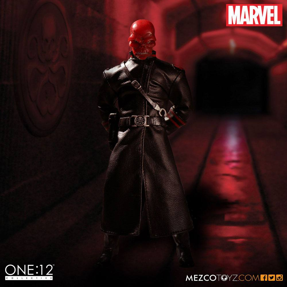 Photo du produit MARVEL UNIVERSE FIGURINE 1/12 RED SKULL 16 CM