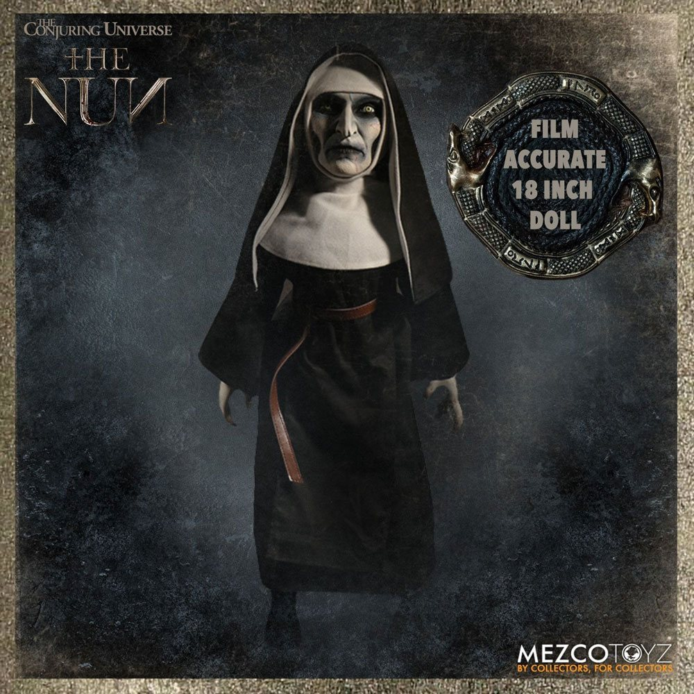 Photo du produit CONJURING UNIVERSE PELUCHE ROTO THE NUN (THE NUN MOVIE) 46 CM