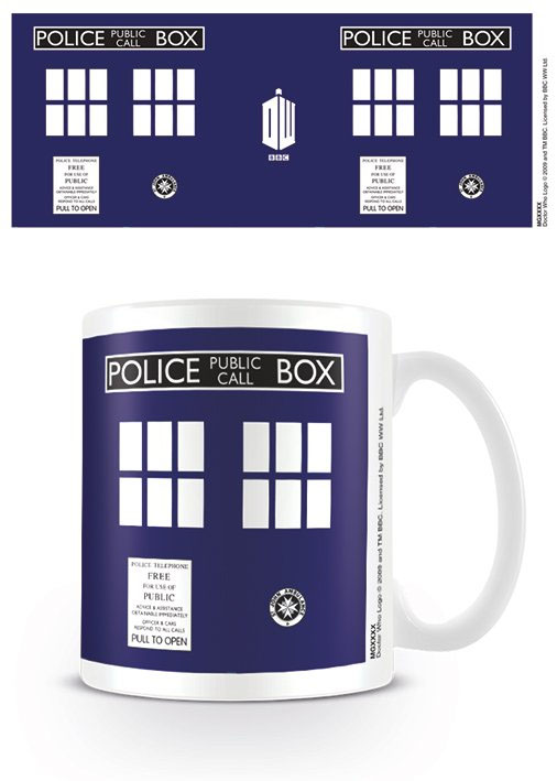 Photo du produit DOCTOR WHO MUG TARDIS