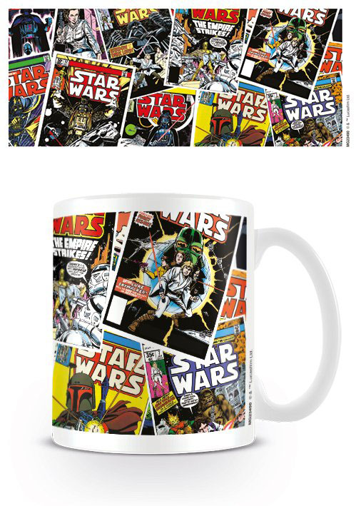 Photo du produit STAR WARS MUG COMIC COVERS