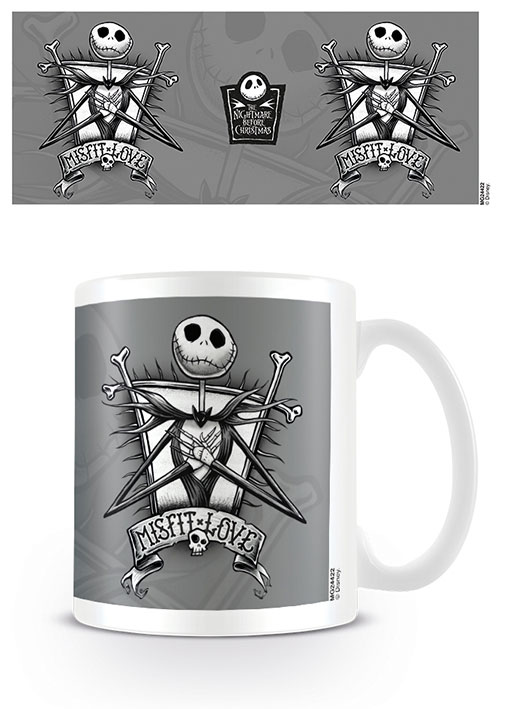 Photo du produit L´ETRANGE NOEL DE MR. JACK MUG MISFIT LOVE