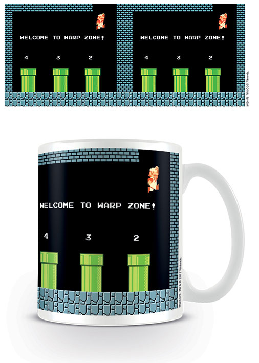 Photo du produit SUPER MARIO BROS. MUG WARP ZONE