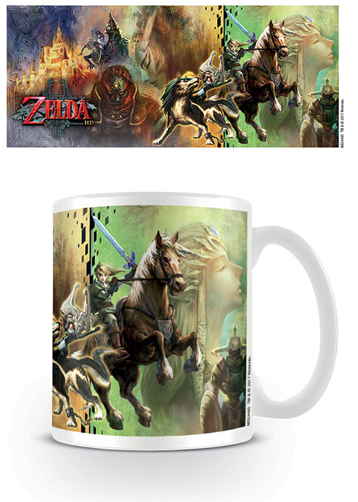 Photo du produit LEGEND OF ZELDA TWILIGHT PRINCESS MUG CHARACTERS