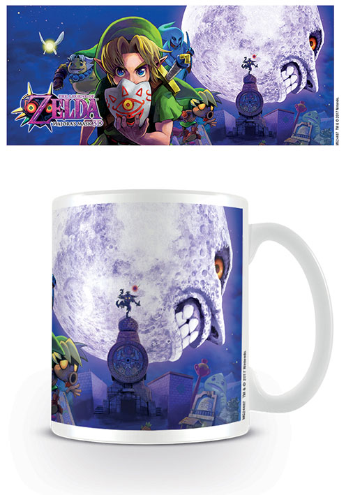 Photo du produit LEGEND OF ZELDA MAJORAS MASK MUG MOON