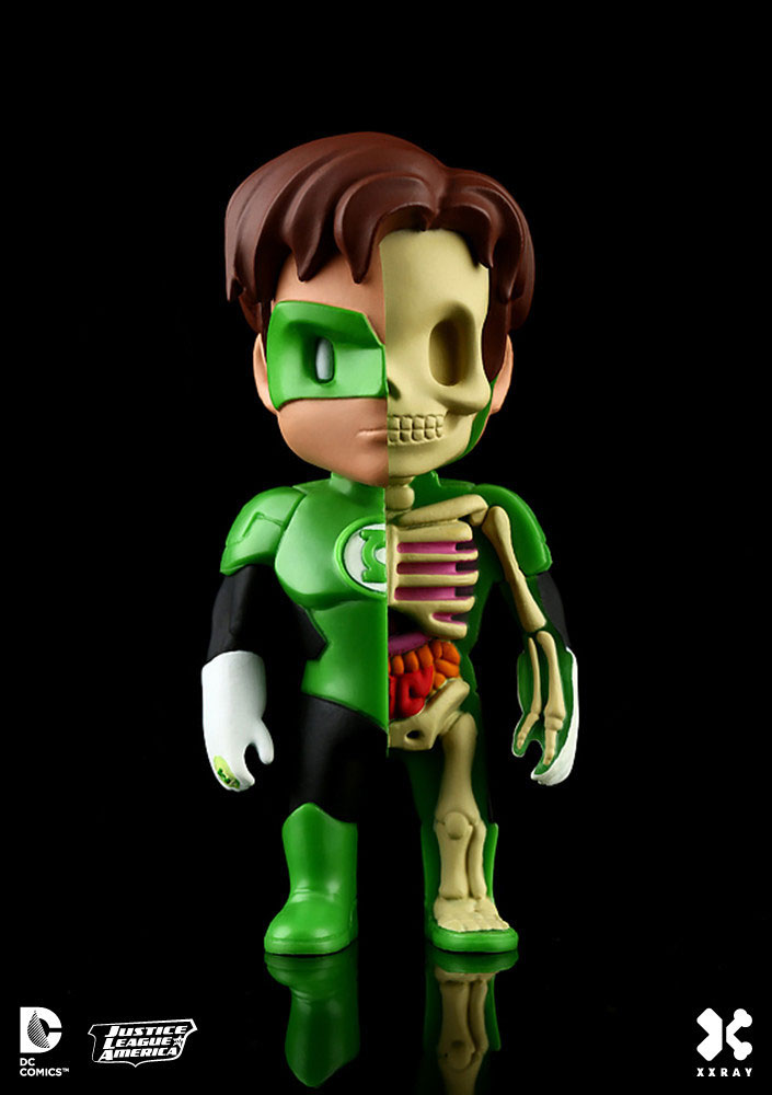 Photo du produit DC COMICS FIGURINE XXRAY WAVE 2 GREEN LANTERN