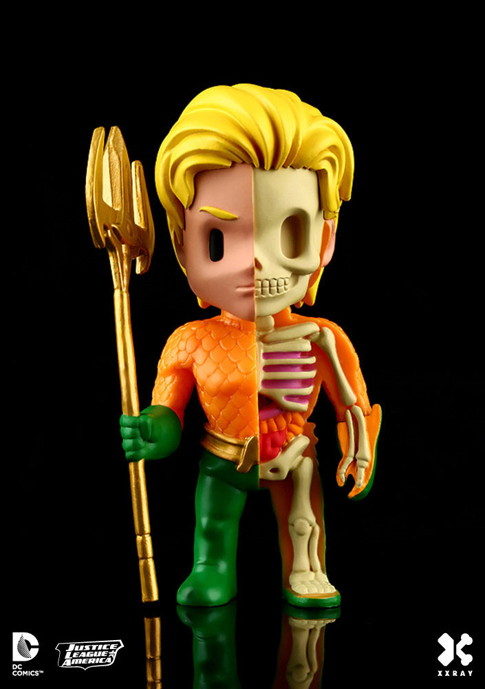 Photo du produit DC COMICS FIGURINE XXRAY WAVE 2 AQUAMAN
