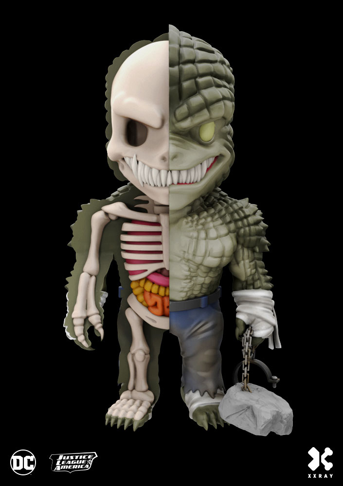 Photo du produit DC COMICS FIGURINE XXRAY WAVE 4 KILLER CROC