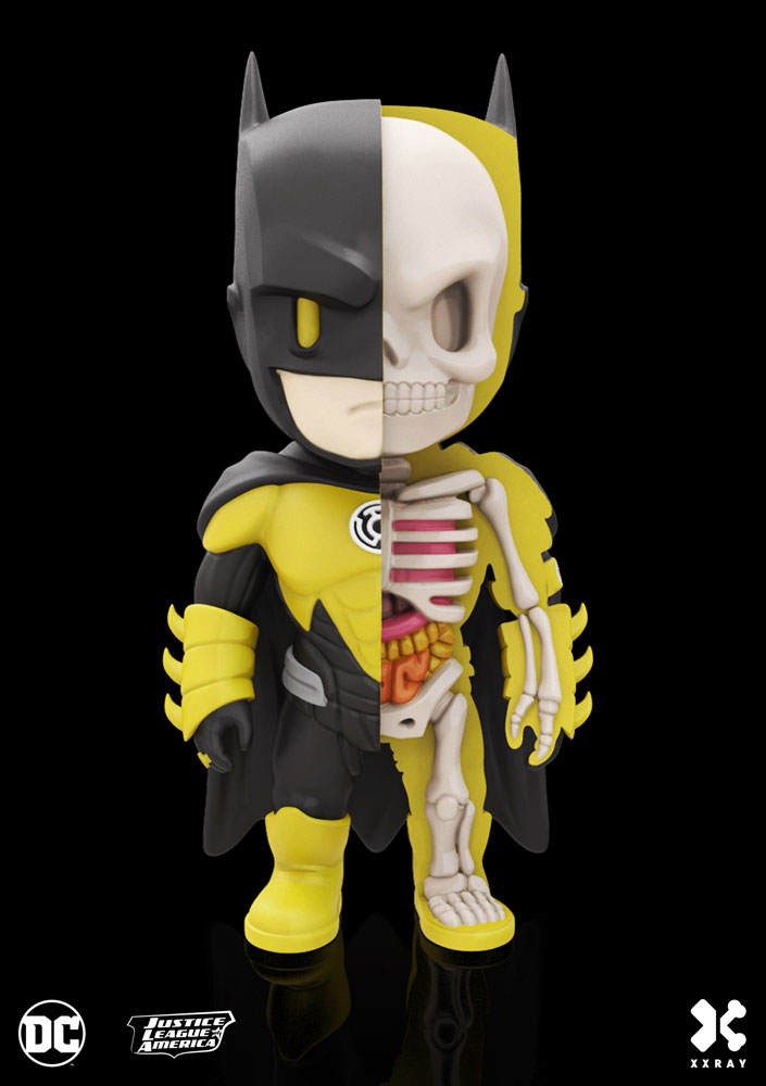 Photo du produit DC COMICS FIGURINE XXRAY WAVE 5 BATMAN YELLOW LANTERN