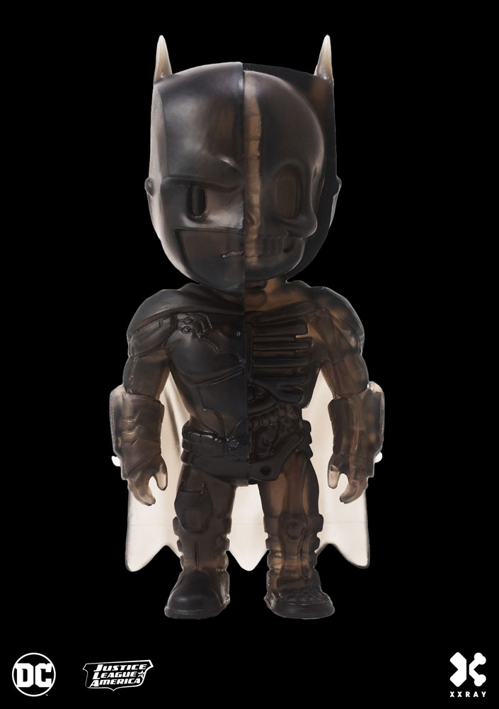 Photo du produit DC COMICS FIGURINE XXRAY BATMAN CLEAR BLACK EDITION