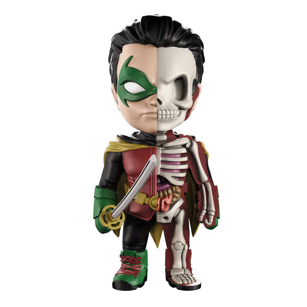 Photo du produit DC COMICS FIGURINE XXRAY WAVE 7 ROBIN 10 CM
