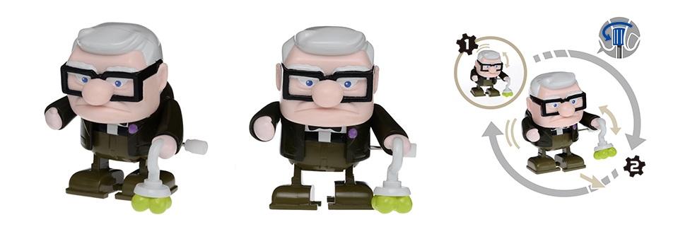 Figurine POP! Disney Là haut  Carl et Russel  La Geekerie