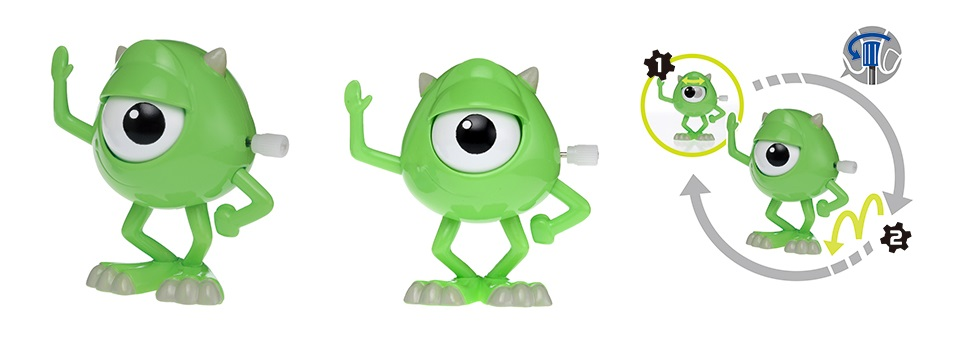 Photo du produit FIGURINE DISNEY MOVIN MOVIN MONSTRES ET COMPAGNIE MIKE SERIE 8