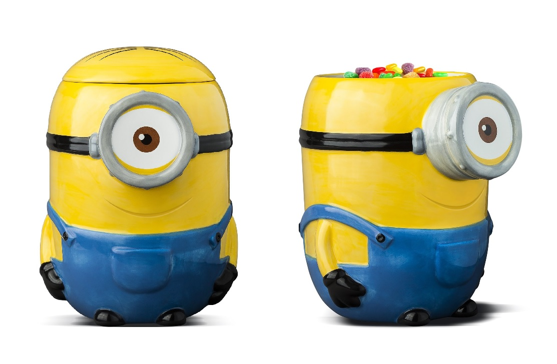 Photo du produit MINIONS COOKIE JAR CÉRAMIQUE SWEETS & TREATS STUART