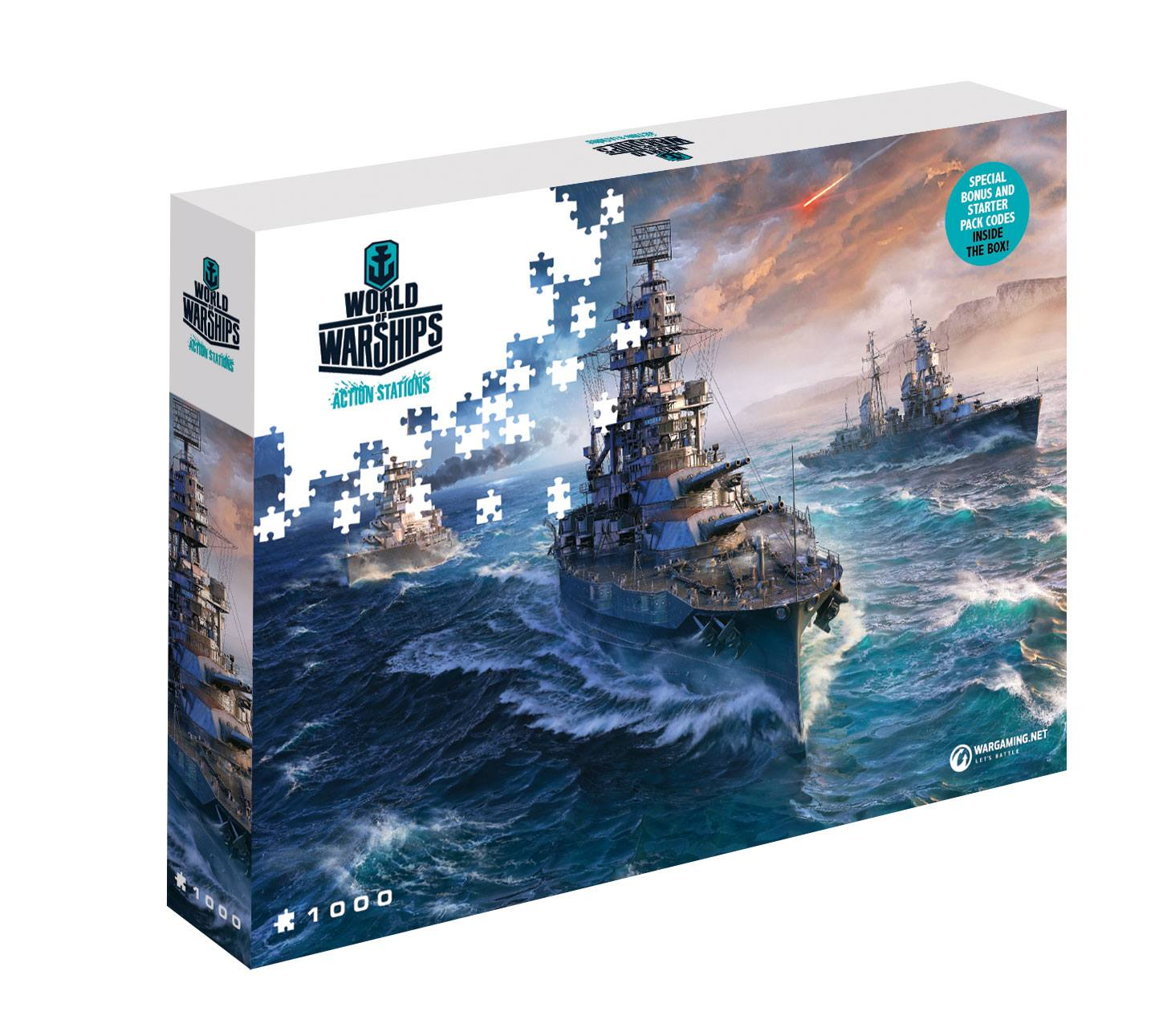 Photo du produit PUZZLE WORLD OF TANKS READY TO FIGHT (1000 PIECES)